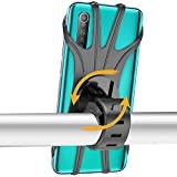 Epilum Bike Mount, support universel de guidon en silicone à rotation de 360° Bike Mount Motorcycle GPS Nacigatore pour iPhone 11 8 Plus XS MAX XR Samsung