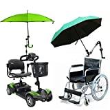 TANCHEN - Parapluie de pluie, porte-parapluie pour bébé, porte-connecteur de voiture, porte-tuyau, pince pour fauteuil roulant, scooter