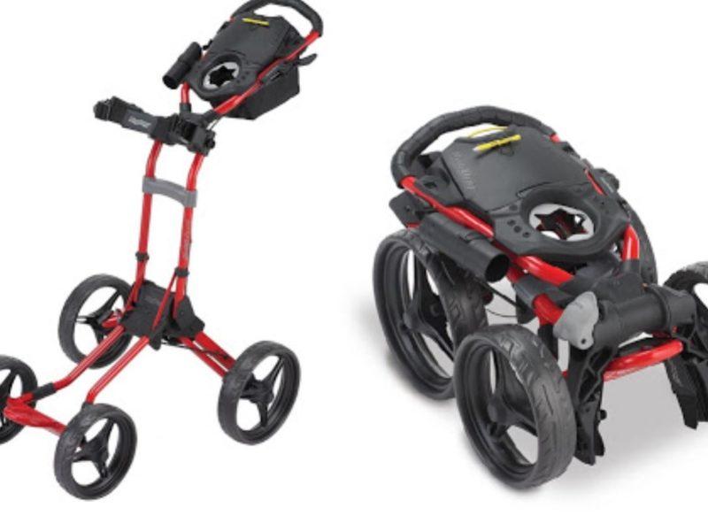 Chariots de golf pliables